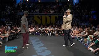 Joseph Go vs oSaam JUDGE BATTLE Hiphop Forever - Summer Dance Forever 2019