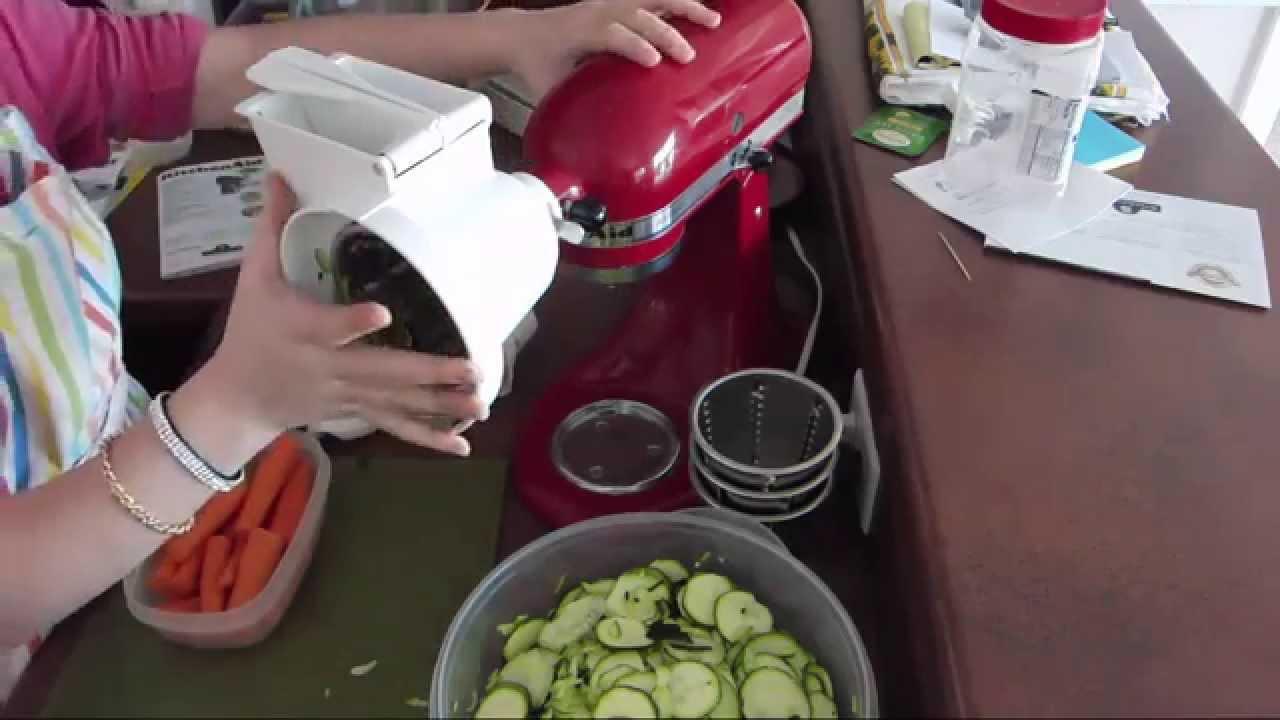 Kitchenaid Attachments Cheese Grater Kitchenaid Slicer And Shredder  Youtube