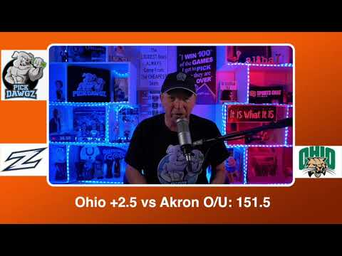 Ohio vs Akron 2/23/21 Free College Basketball Pick and Prediction CBB Betting Tips