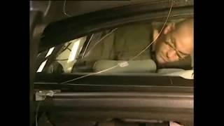 Замена заднего стекла Mercedes-Benz W221 Replacing rear window