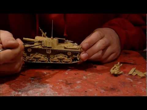 Tamiya Semovente M40-75/18 in 1/35 scale building review Part I