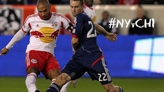 HIGHLIGHTS: New York Red Bulls vs. Chicago Fire | October, 27, 2013