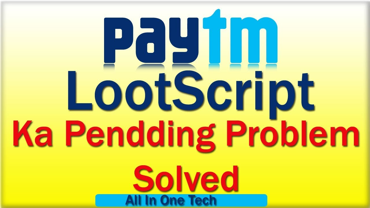 Paytm loot script padding gold solution💪😄👌 - full