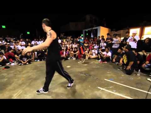Un niño reta al mejor bailarin de break dance del mundo y lo humillo