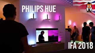 Learning about Philips Hue from the Inventor - IFA 2018 New Products with George Yianni