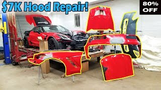 Rebuilding a Wrecked 2016 Corvette Z06 (Part 5) Carbon Fiber Repair