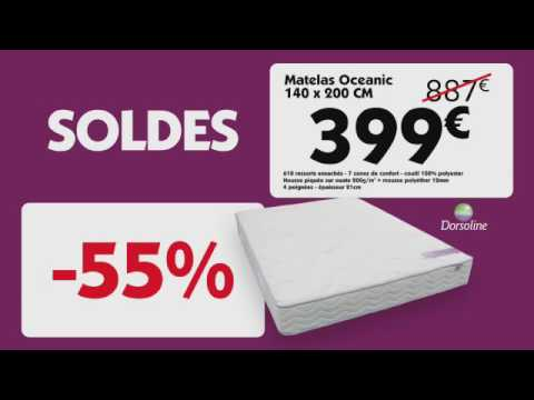 le roi du matelas soldes hiver 2017 wallonie youtube. Black Bedroom Furniture Sets. Home Design Ideas