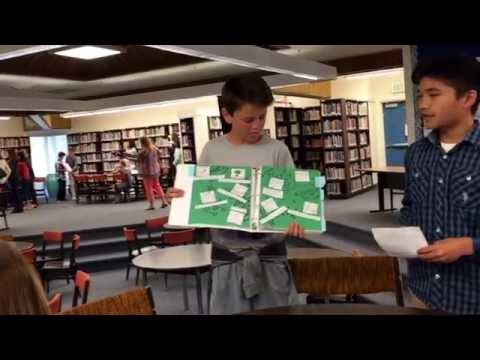 May 20, 2016 Jonah's English Portfolio Presentation- Crocker Middle School 7th Grade