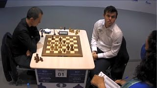 Magnus Wants To Calculate But The Arbiter Is Right In Front Of His Face || FIDE World Cup 2021