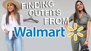Trying to Find & Style 5 Outfits from Walmart!!  | Jeanine Amapola