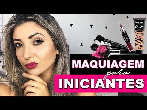 Maquiagem para Iniciantes com produtos baratinhos da Nivalda Camargo