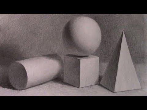 Basic Still Life Drawing in pencil