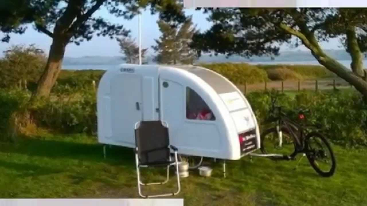Lightweight Bicycle Micro Camper: Tow With Your Bicycle Small Homes