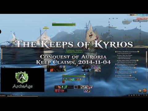 [AA] The Keeps of Kyrios - ArcheAge Keep Claim (Kyrios)
