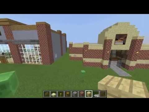 Minecraft - Let's Build A Wells Fargo Bank! - Build #2