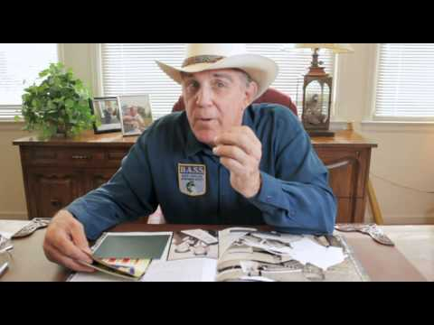 A look inside the Bass Fishing Vault Book with Ray Scott
