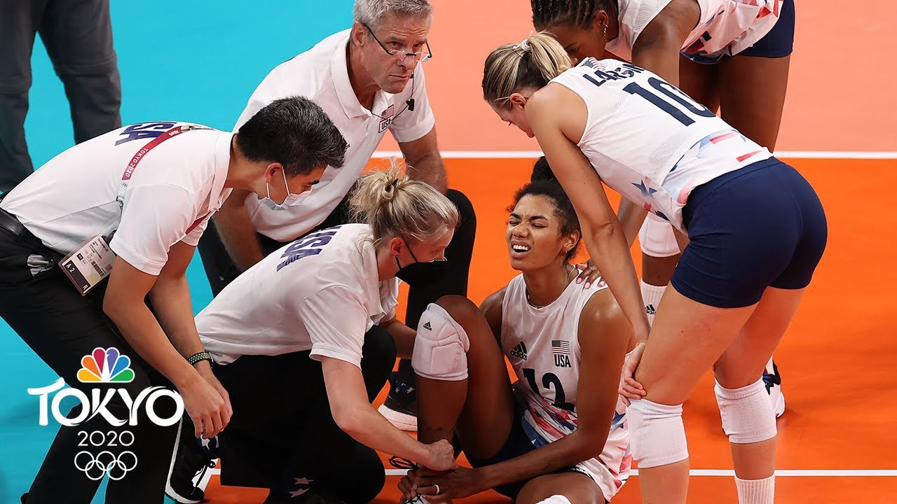 Team USA dominates Brazil to clinch first women's volleyball gold