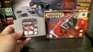 N64 Visual Review, Lode Runner 3-D.