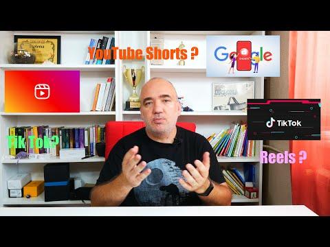 Care-i faza cu YouTube  Shorts,  Tiktok, Instagram Reels și altele