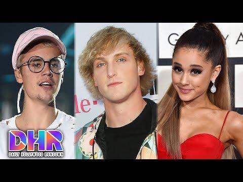 Justin Bieber MOCKS Jake & Logan Paul?! - Selena Gomez's Mom SLAMS Ariana Grande! (DHR)