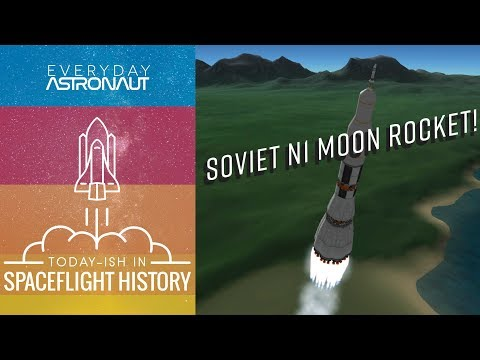 Soviet N1 Moon Rocket - Today-ish In Spaceflight History