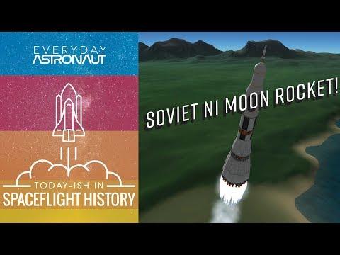 Soviet N1 Moon Rocket  Todayish In Spaceflight History