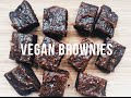 VEGAN SALTED CARAMEL BROWNIES