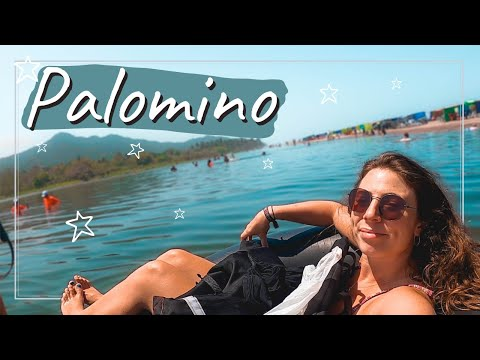 TUBING + SUNSETS IN PALOMINO 🇨🇴Solo Backpacking Colombia