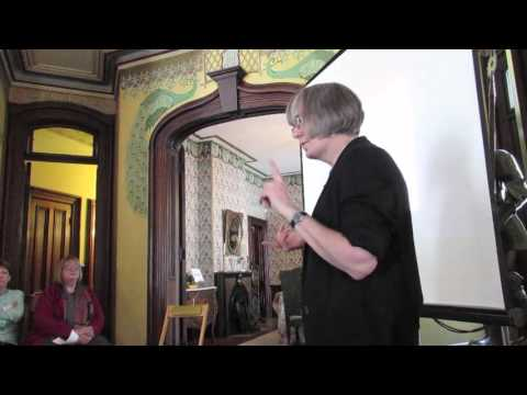 Hower House talk on painting preservation by Wendy Partridge