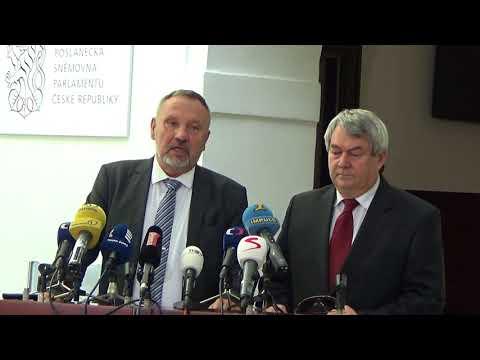 Tisková konference KSČM 05. 09. 2017
