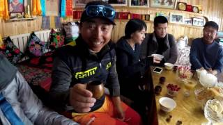 Ski China - Hemu Flag and Drink Ceremony