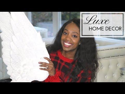 Interior Decorating: Luxe Home Decor Accessories| Elegant Decor Ideas #FromOrdinarytoFAb Home Series