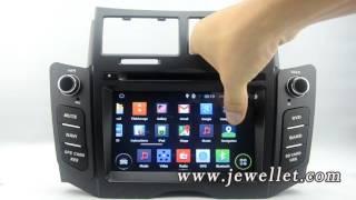Android Toyota Yaris Vitz Belta DVD GPS Navigation with Bluetooth,3G/Wifi,DVR,1080P