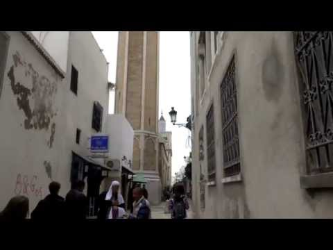Medina Market in Tunis, Tunisia. Fascinating old town and market