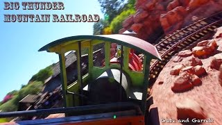 Big Thunder Mountain Railroad Ride with Gabe and Garrett! (Disneyland)