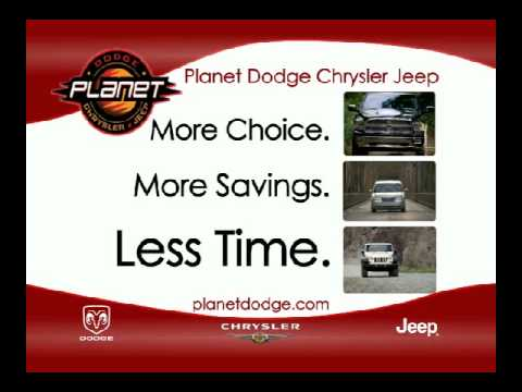 Planet Dodge Chrysler Jeep TV Spot