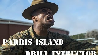 Parris Island Drill Instructor From Hell-Marine Corps Recruit Traning