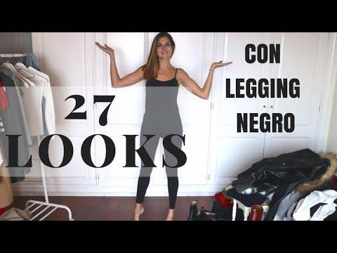 27 LOOKS CON LEGGING NEGRO - Marilyn's Closet
