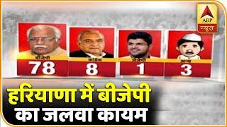 Opinion Poll: हरियाणा में बीजेपी की होगी बल्ले-बल्ले, कांग्रेस चारों खाने चित | ABP News Hindi