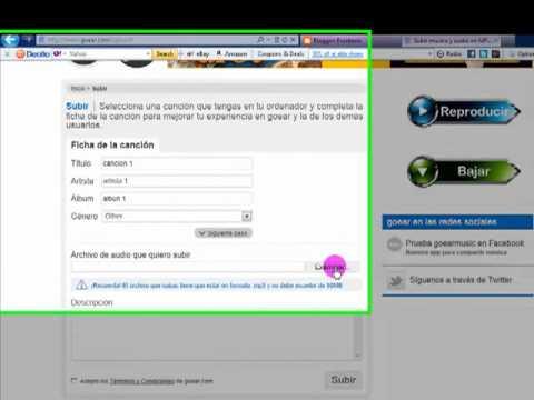 Como poner Musica en Blogger 2 Forma by porterazo29