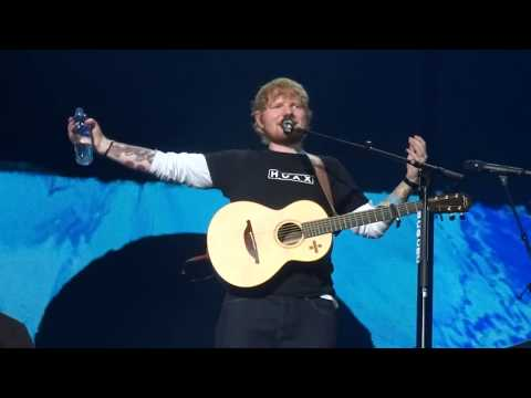 Ed Sheeran - Eraser - Divide Tour, Friends Arena Stockholm, July 14th 2018