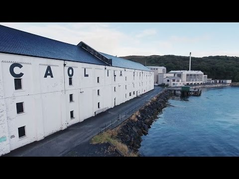 Caol Ila distillery video
