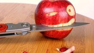 Быстро чистим яблоки