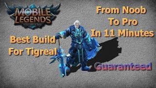 Mobile Legends Best Build For Tigreal | Unbeatable Guide | Solo Lane