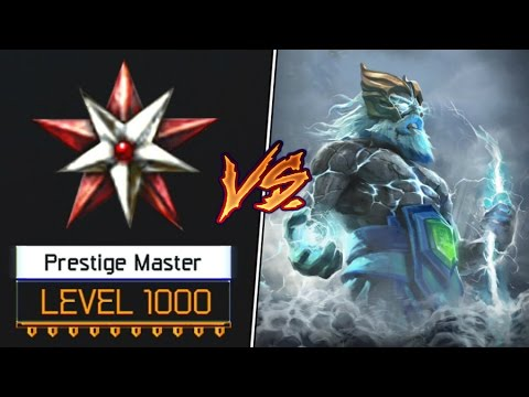 Zeus Vs Level 1000 Prestige Master! Trash Talker in BO3 SnD!