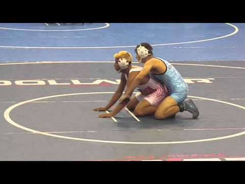 Alex Lopez 132 Santa Maria High School Masters Championship Match