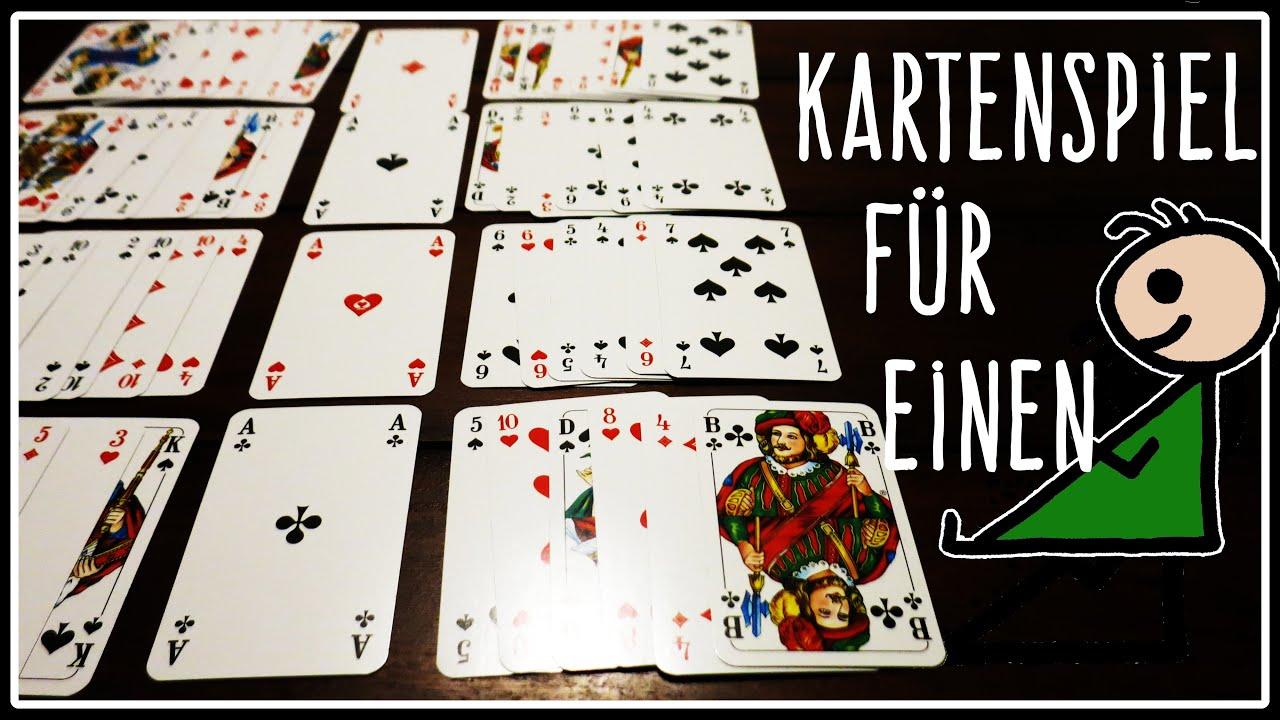 Kartenspiel Für 1 Person