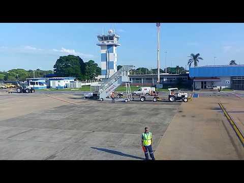 aviao taxi e decolagem de campo grande Ms Brazil