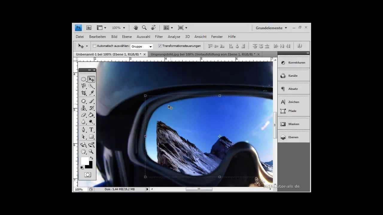photoshop tutorial spiegelungen und reflexionen auf brillen entfernen oder glas austauschen. Black Bedroom Furniture Sets. Home Design Ideas