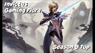 League of Legends: Invictus Gaming Fiora Top Gameplay